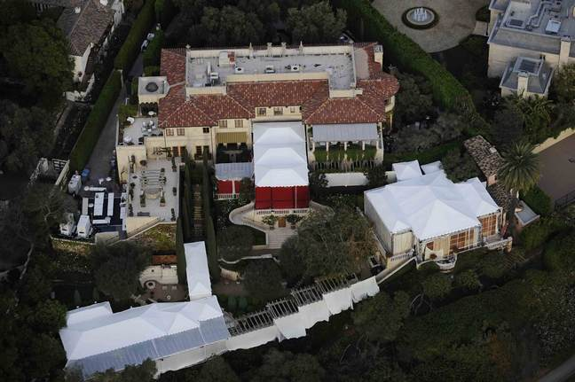 Lionel Richie home being prepped for wedding of Nicole Richie and Joel Madden