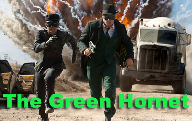 The green hornet, seth rogen and jay chou movie