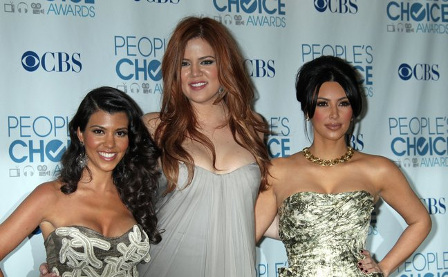 Kim Kardashian, Khloe Kardashian, Kourtney Kardashian, people's choice awards