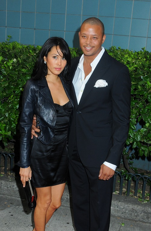 Terrence Howard, suit, Michelle Ghent