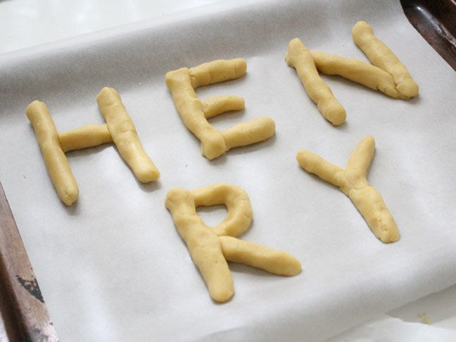 Rainy Day Crafts with Kids: Alphabet Cookies