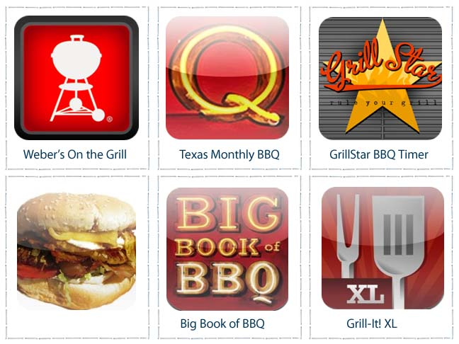 Top 6 BBQ Apps