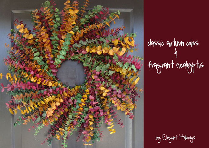 Wreaths For Welcoming Fall