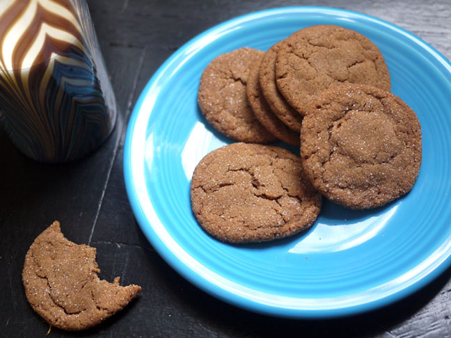 Chewy Butterscotch Spice Cookies