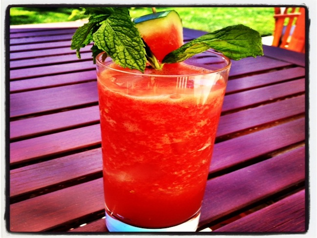 Watermelon Vodka Limeade