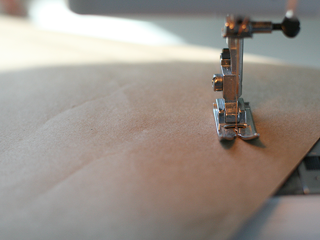 Stitched Wrapping Paper