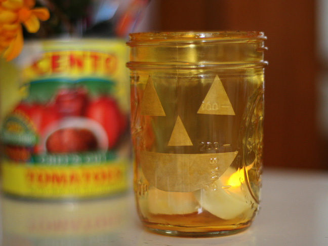 Pumpkin Mason Jars DIY Craft
