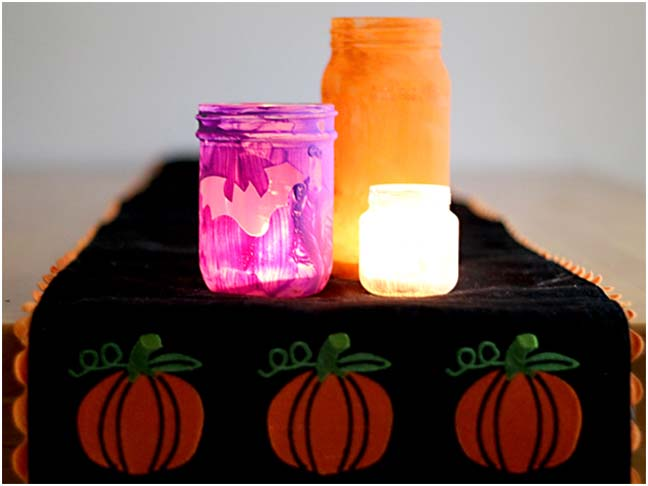 DIY Halloween Craft: Halloween Luminaries Step 6