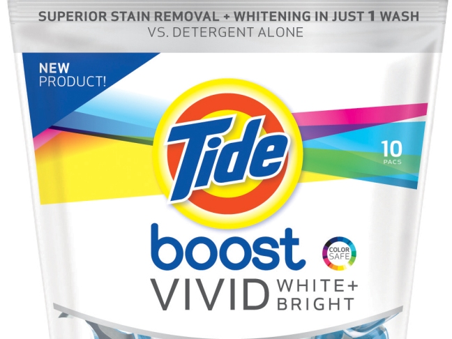 Mom Squad Product Review: Tide Vivid White and Bright by