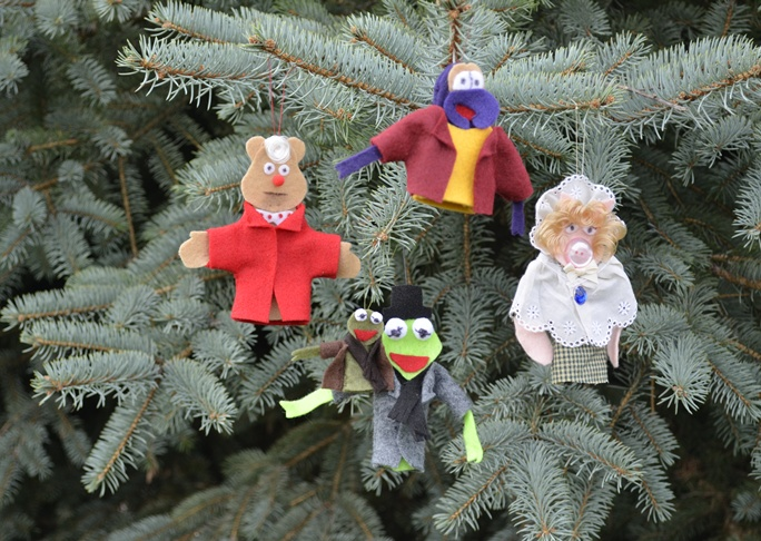 Muppet Christmas Ornaments Craft