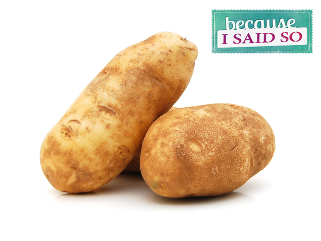 Parenting Blog - Hold the Potatoes