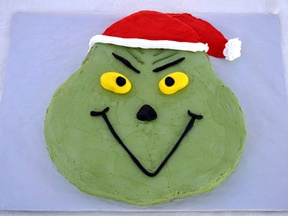 Grinch Cake Recipe - Step 24