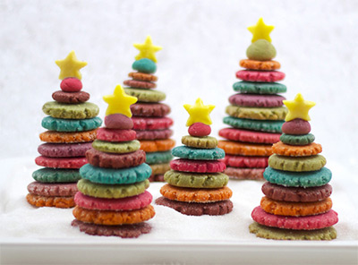 Christmas Cookies - 3D Xmas Trees