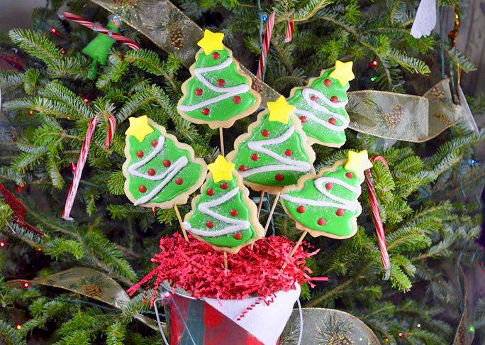 Christmas Cookie Bouquet Recipe - Final