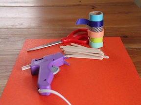 Paper Football Game DIY - Supplies