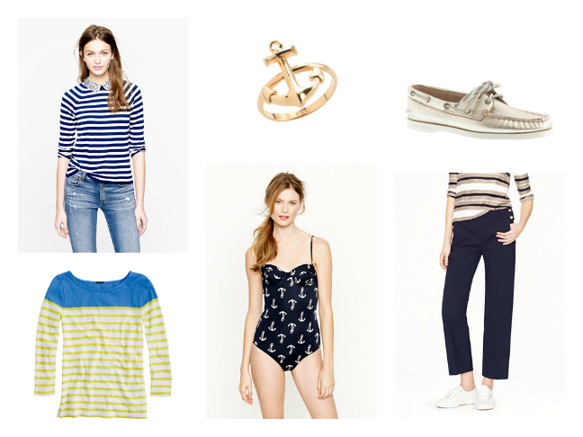 Shop J. Crew Nautical Spring Outfits