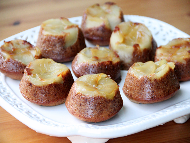 Upside Down Apple Muffins Recipe