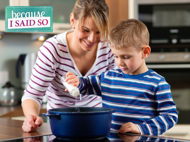 Parenting Blog -- Cooking with Kids