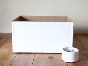 Recycling Box Craft - Step 2