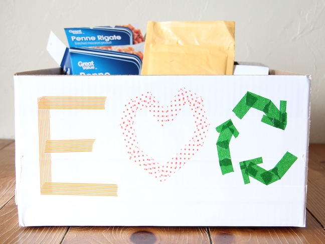 Recycling Earth Day DIY Craft