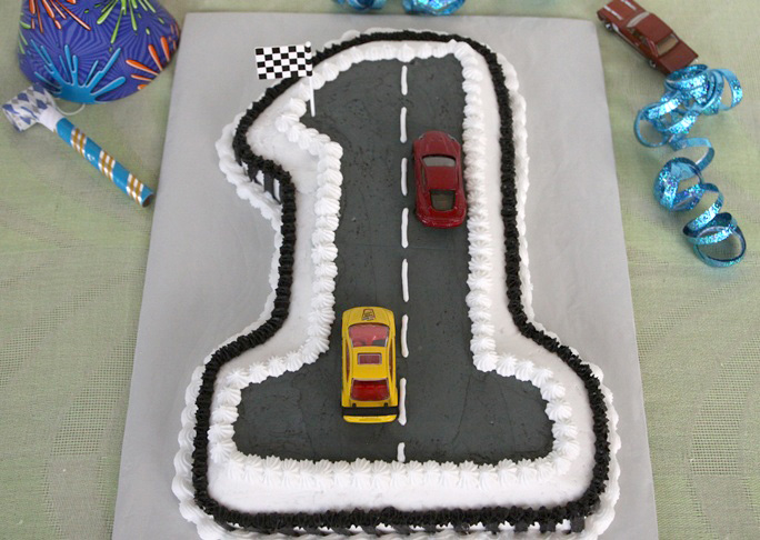 Race Car Birthday Cake Recipe