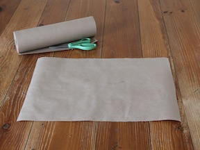 Flower Wrapping Paper DIY - Step 1
