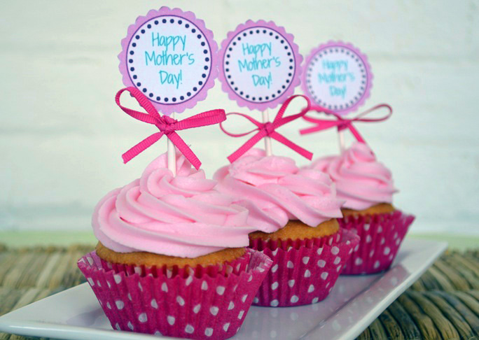 Happy Mother's Day Cupcakes Recipe