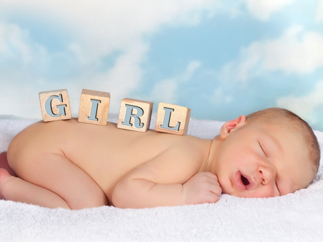 Most popular baby names for girls 2012