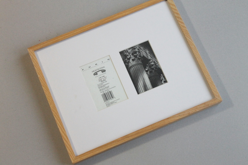 Washi Tape Pitcure Frame DIY - Step 1
