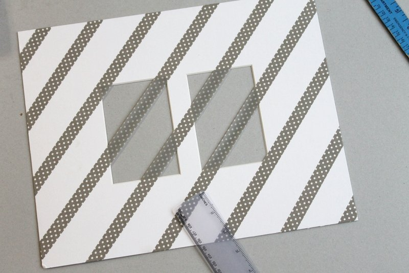 Washi Tape Picture Frame DIY - Step 2