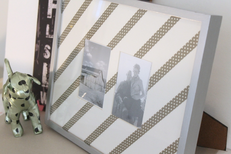 Washi Tape Picture Frame DIY - Step 5