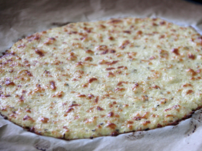 Cauliflower Crust Gluten-Free Pizza - Step 8