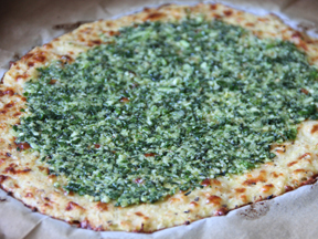 Cauliflower Crust Gluten-Free Pizza - Step 9