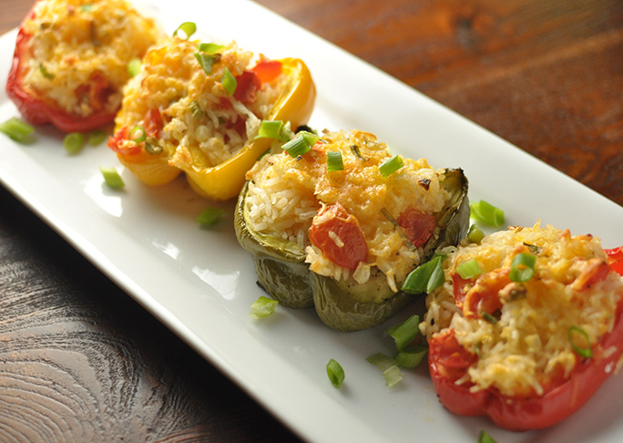Stuffed Veggie Peppers
