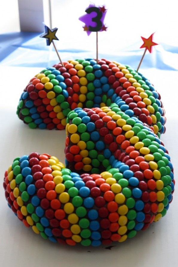 Colorful Candy Cake Recipe