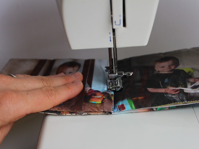 DIY Fabric Picture Book - Step 11