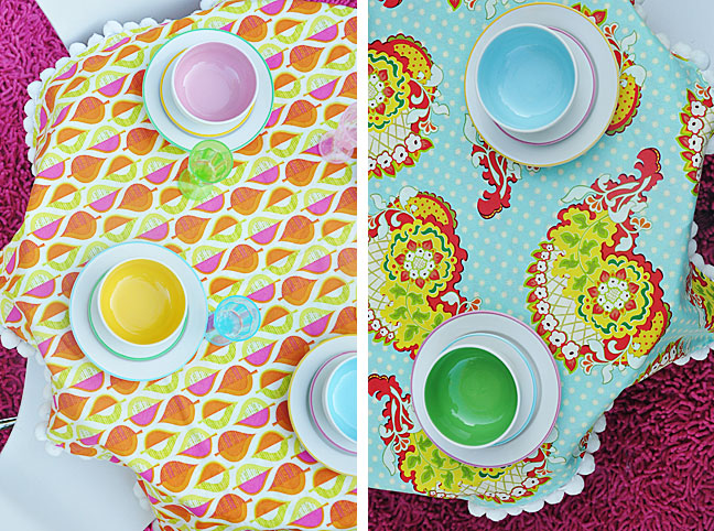 DIY Reversible Tablecloth