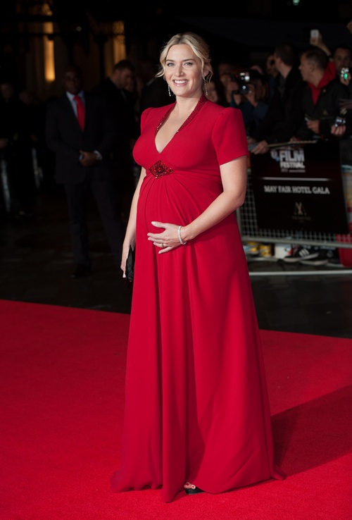 Kate winslet red gown
