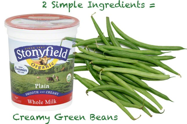Creamy Green Beans for Baby