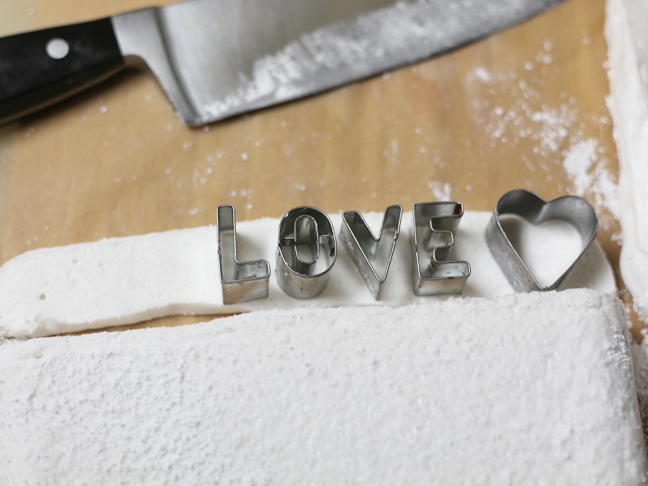 Love Letter Marshmallows
