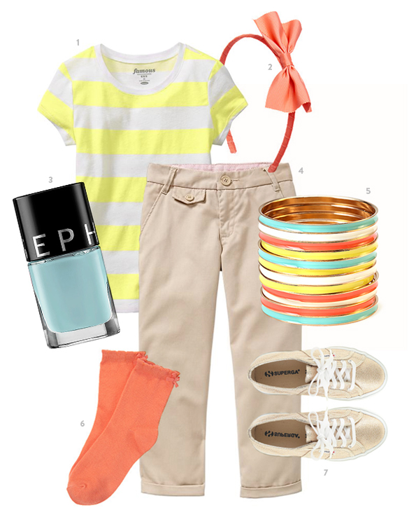 Big Girl Outfit by The Kids' Dept. for Momtastic.