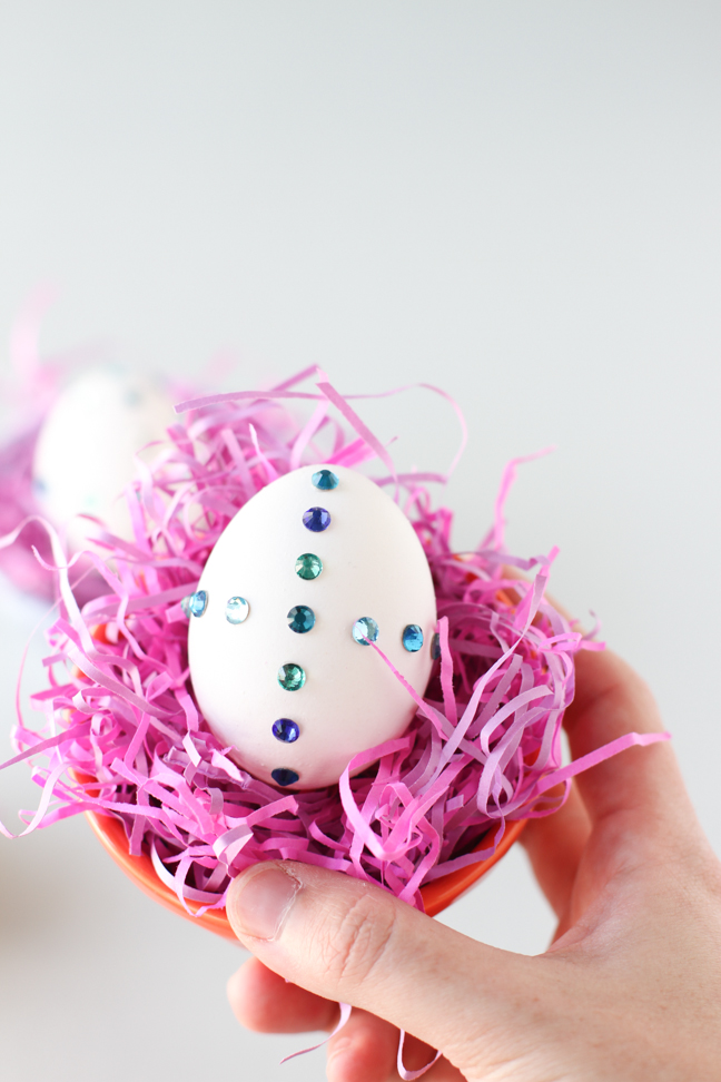 Bejeweled Easter Egg DIY