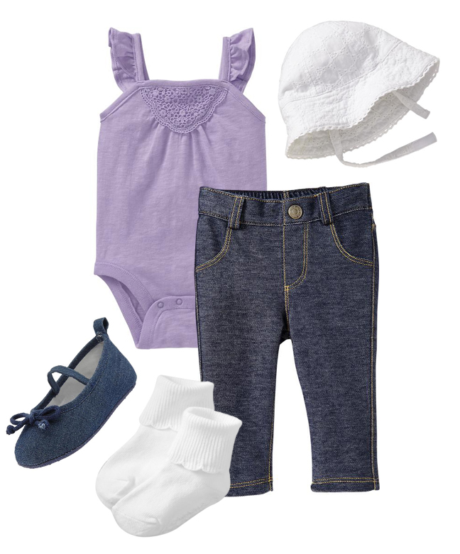 Baby Girl Outfit Picks from Old Navy