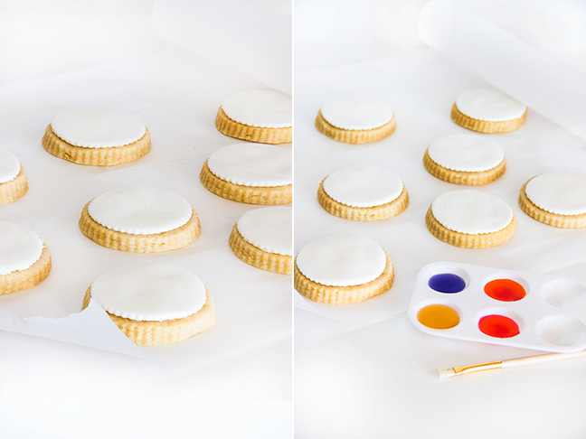 DIY Watercolour Cookies by Maddy of Splendid Supply Co. for Mumtastic.