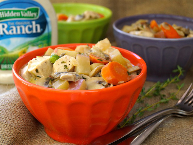 Hidden Valley Ranch Chicken-Vegetable Fricassee Recipe - Momtastic