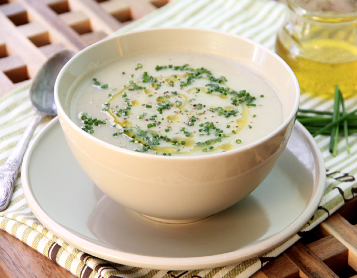 Cauliflower Parmesan Soup