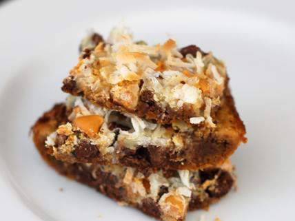 classic 7 layer bars recipe