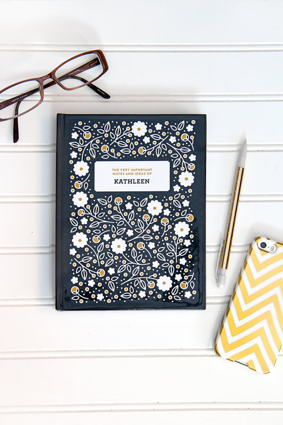 personalized-planner-black-yellow