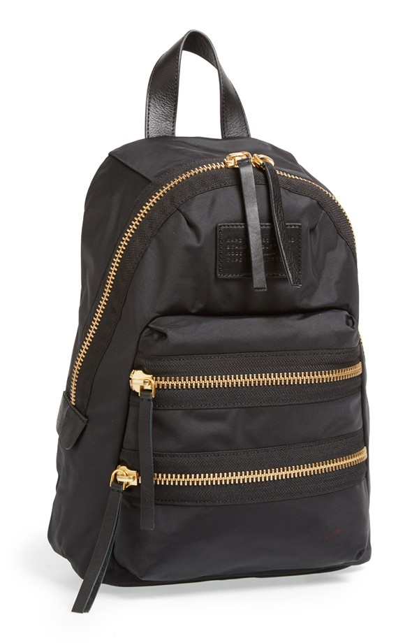 Marc Jacobs Black Backpack - Stylish Toddler Bags for Moms
