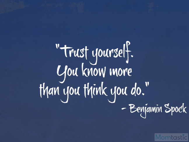40 amazing quotes on parenthood via @ItsMomtastic featuring Benjamin Spock